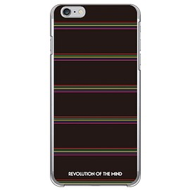 SECOND SKIN - Multi border ブラック (クリア) design by ROTM / for iPhone 6s Plus/Apple