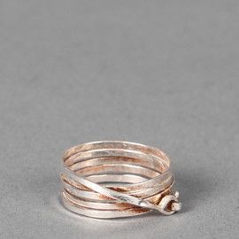 SERGE THORAVAL - Spiral-shaped ring
