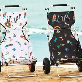 IRIE LIFE - BUZZ TEXTILE BUGGY CHAIR -CAP x IRIE LIFE-