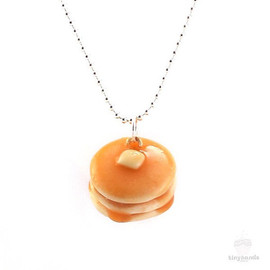 tinyhands - Scented Pancake Necklace - Food Jewelry