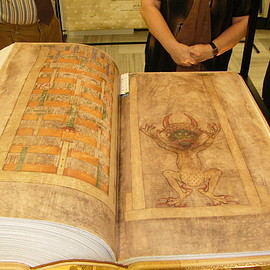 Codex Gigas (The Devil's Bible)