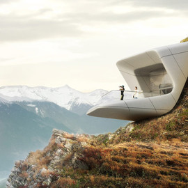 Messner Mountain Museum by Zaha Hadid