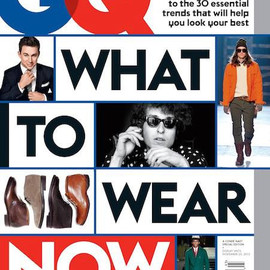 Condé Nast - Special Edition of GQ. What to wear now.