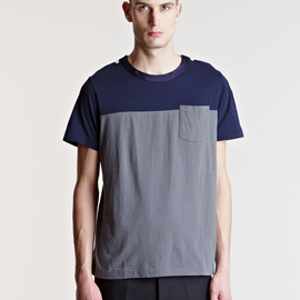 sacai - Sacai Men's Contrast Panel T-shirt