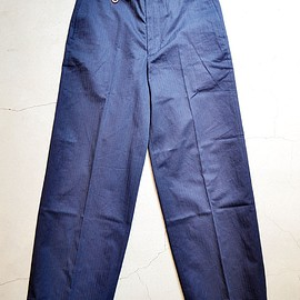 ID DAILYWEAR - FINX HERRINGBONE WIDE PANTS