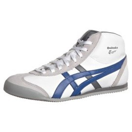 Onitsuka Tiger - MEXICO MIDRUNNER - Sneaker high - white/true blue