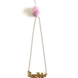 LUVRA magic - Sugar Babes Talk sugar babes club necklace