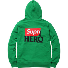 Supreme, ANTIHERO - Zip-Up Sweatshirt
