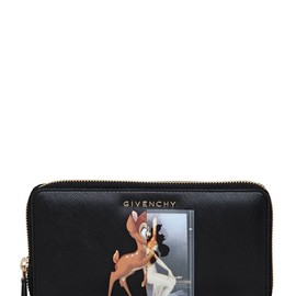 GIVENCHY - BAMBI & FEMALE FORM ZIP AROUND WALLET