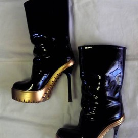 YSL - short boots