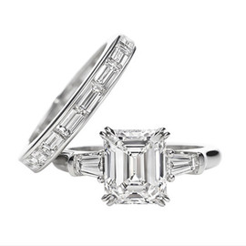 Harry Winston - Classic Winston Emerald-Cut Engagement Ring