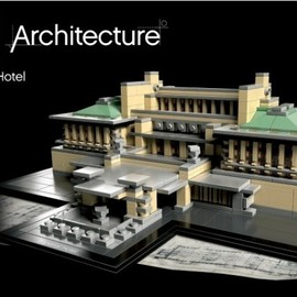 LEGO - lego architecture landmark series the imperial hotel tokyo japan 1 LEGO Architecture Imperial Hotel