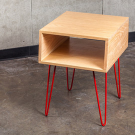 TravisHayesFurniture - Modern Oak Side Table