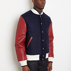 THOM BROWNE - Letterman Jacket