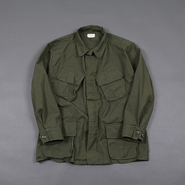 US ARMY - US Militaly / Jungle Fatigue Jacket / Olive / Dead Stock