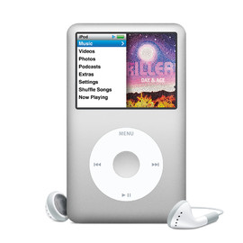 Apple - iPod classic 160GB (Silver)