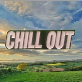 CHILL OUT - CHILL OUT ENAMEL LAPEL PIN