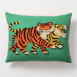 Anthropologie - Tufted Bengal Pillow