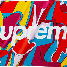 Supreme - Abstract Beach Towel