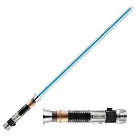 Hasbro - STAR WARS Obi-Wan Kenobi Force FX Lightsaber Episode 3 Removable Blade