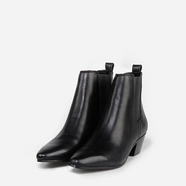 CHARLES&KEITH - LEATHER CHELSEA BOOTS