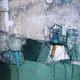 Miriana Savova - untitled, mixed media on canvas