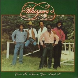 THE WHISPERS - Love is Where You Find It  CD
