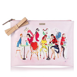 kate spade NEW YORK - OOH LA LA LARGE BELLA POUCH