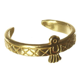 Chibi Jewels - Brass Native Bird Rings