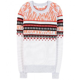 PROENZA SCHOULER - INTARSIA COTTON SWEATER