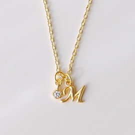 Madison&Ruth - initial necklace