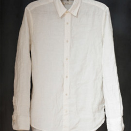 かぐれ - LINEN 2WAY COLLAR SHIRTS