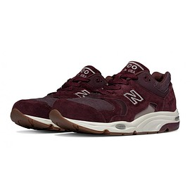 New Balance - M1700 Explore by Sea Shoes Made in USA Burgundy with Brown