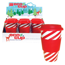 Decor Craft Inc - Eco Cup™ Holiday Edition- Candy Cane