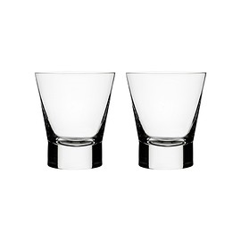 Göran Hongell,Part of the Aarne collection. - Aarne Double Old Fashion Glasses, Set of 2