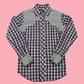 VINTAGE - Vintage 90s Western Plaid Pearl Snap Button Up Shirt WOMENS Size Small