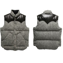 rocky mountain featherbed - vest tweed ROCKY MOUNTAIN FEATHERBED DOWN VEST TWEED | SUPERDENIM UP TO 60% SALE