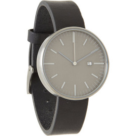 Uniform Wares - 203 Series Grey/Black Wristwatch