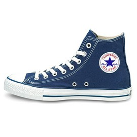 CONVERSE - CANVAS ALL STAR HI -navy