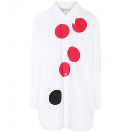 MARNI - PRINTED OVERSIZED COTTON SHIRT
