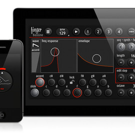 finger-pro.com   - BassLine – Analog Modeling Synthesizer for iOS