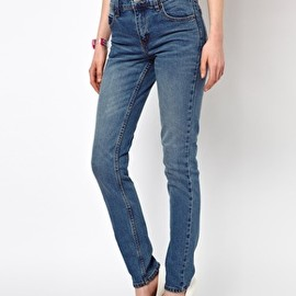 Cheap Monday - Cheap Monday Tight Light Wash Skinny Jeans