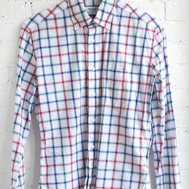Brooklyn Tailors - Multi-colored Large Check Shirt - BkT10
