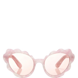 OPENING CEREMONY - Flower Cat Eye Sunglasses In Light Pink Pearl