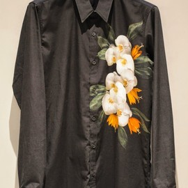 Dries Van Noten - LONG SLEEVE FLOWER PRINTED SHIRT