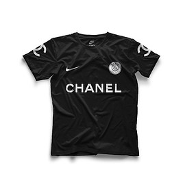 NIKE, CHANEL, Paris Saint-Germain - PSG Tee - Black