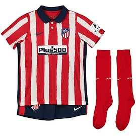 NIKE - Atlético de Madrid Home Stadium Kit 2020-21 - Little Kids
