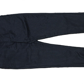 ENGINEERED GARMENTS - Cinch Pant-Worsted Wool-Navy St.