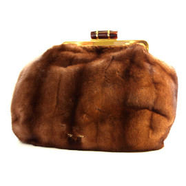 miu miu - Fur Clutch