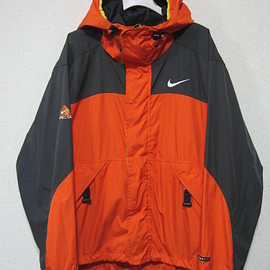 Nike ACG, NIKE - CLIMA-FIT Mountain Jacket - Orange/Grey/Yellow
